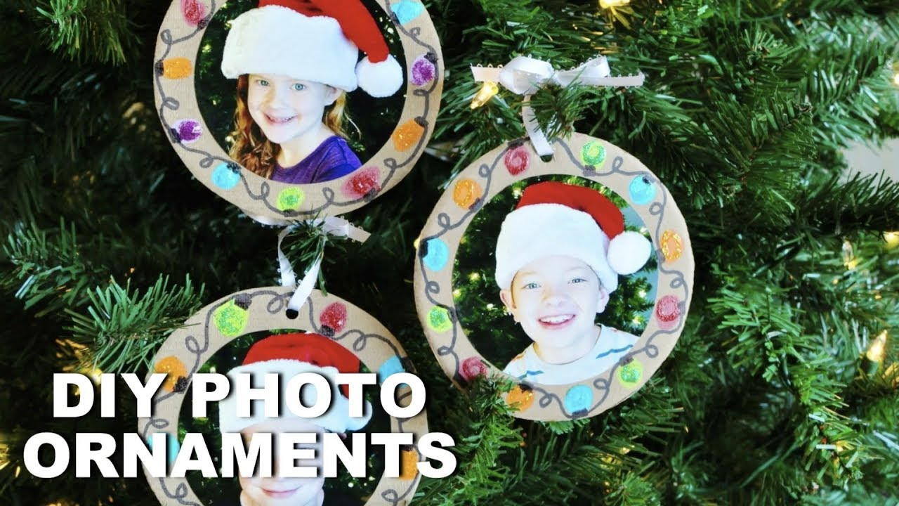 25 Heartwarming Diy Photo Ornaments To Craft For Christmas