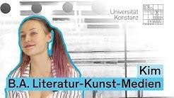 Drei Fragen an Kim, B.A. Literatur-Kunst-Medien