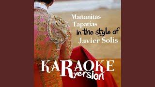 Mañanitas Tapatías (In the Style of Javier Solís) (Karaoke Version)