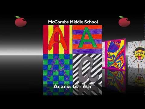 McCombs Middle School - Red Apple Gallery