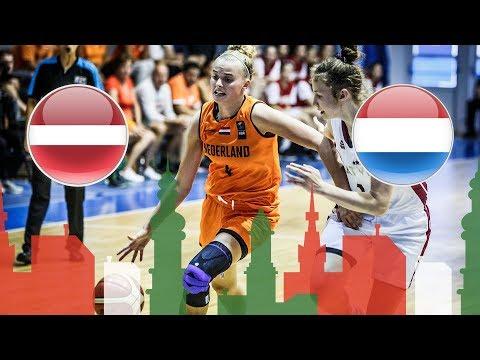 Latvia v Netherlands - Full Game - Round of 16 - FIBA U20 Women