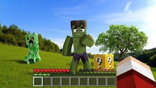 MINECRAFT REALISTA!!! ‹ ESCOLHA A PORTA › MINI-GAME (LUCKY BLOCK)