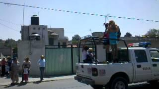 Desfile de carnaval Barrio de Atenco Santa Isabel Tetlatlahuca