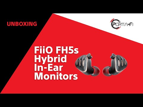FiiO FH5s Unboxing   Porta-Fi™