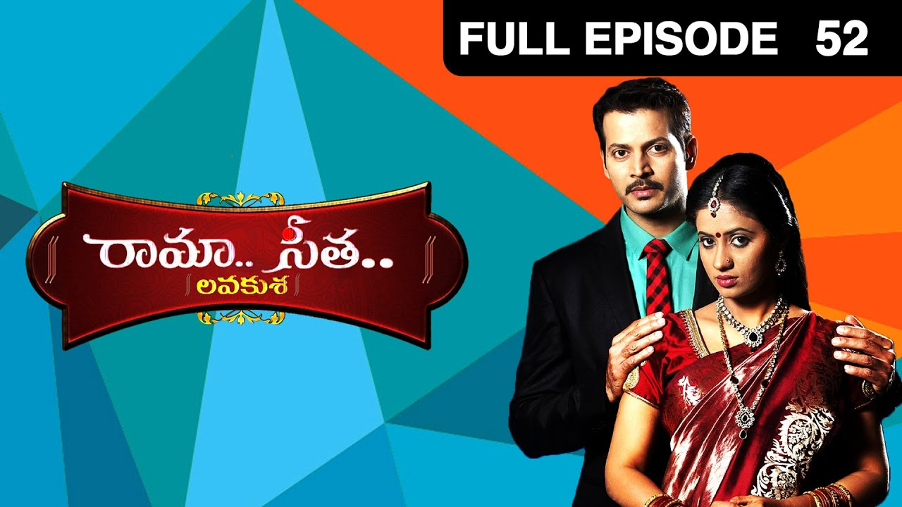Download Raama Seetha | Telugu Tv Serial | Full Ep - 52 | Vasudeva Rao, Preethi Srinivas | Zee Telugu