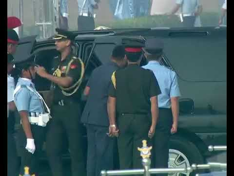 General Bipin Rawat arrived in celebration of 85th anniversary of Indian Air force at Hindon Air bas