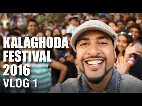 Mad Stuff With Rob - Kalaghoda Arts Festival 2016 Vlog