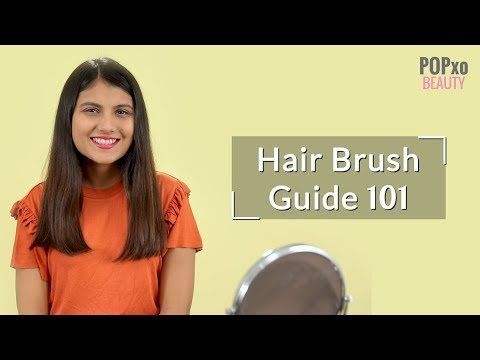 Hair Brush Types: Paddle, Round & Vented Brush, Rat Tail Comb, Wide Tooth Comb - POPxo Beauty