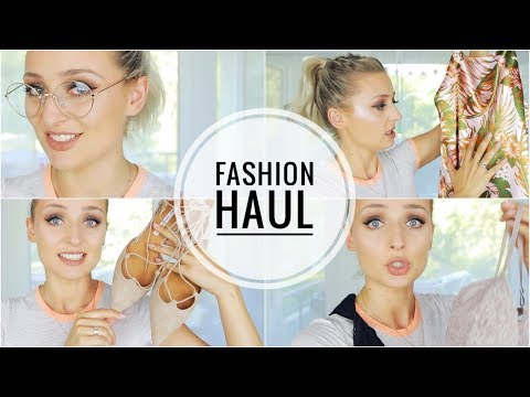 Fashion HAUL - H&M, Stradivarius und MANGO | OlesjasWelt