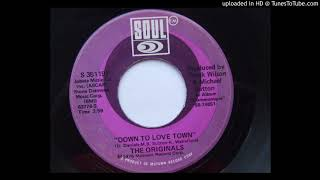 The Originals ✧ Down To Love Town (The Owl Better Bits & Drums Rework)