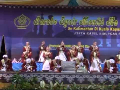 Parade Syair Maulid ke-11 Kapuas, Raudhatul Jannah, Pulau Alalak Kab. Batola Kalsel