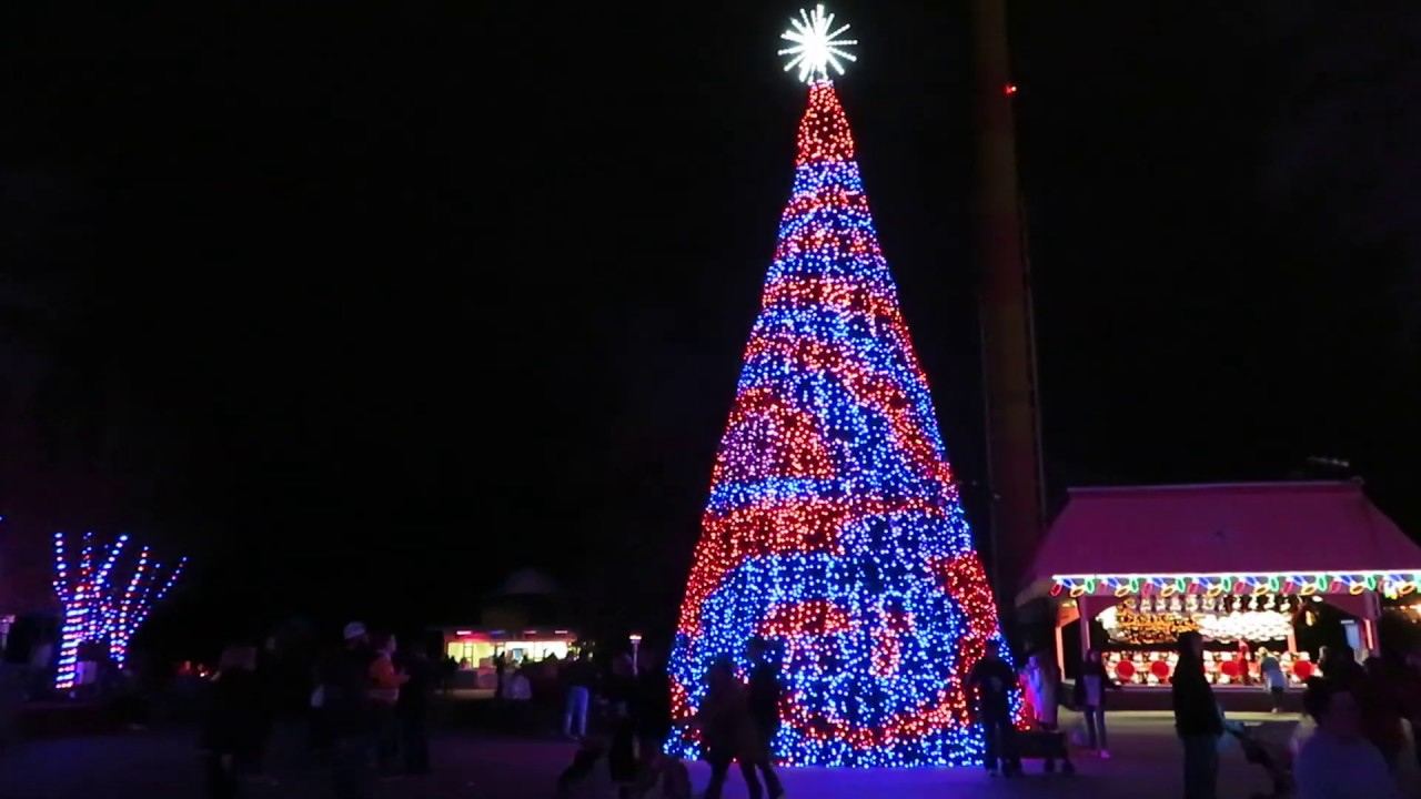 Christmas Tree Candy Appie Grove @ Kings Dominion 12/02/18 - YouTube
