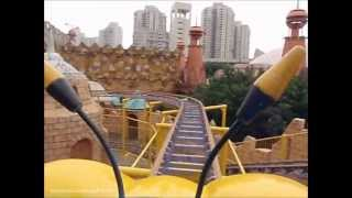 Baby Roller Coaster On-ride POV, Happy Valley Shenzhen