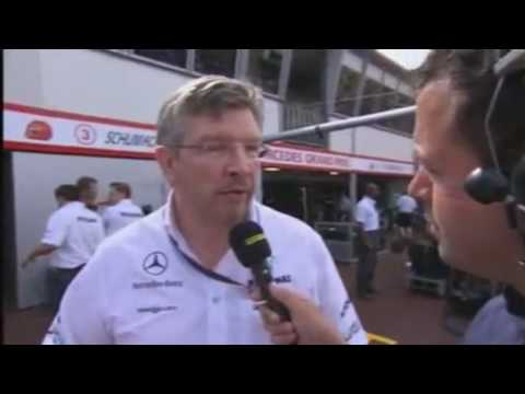 F1 2010: Ross Brawn Defends Schumacher/Alonso Move at Monaco