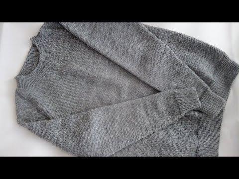 Выкройка свитер мужской спицами