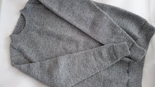Мужской свитер регланом снизуЧасть перваяРасчёты рукава корпус.