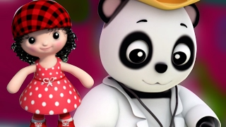 Baby Bao Panda | Fräulein Polly hatte ein Dolly | Kinderreim | Nursery Song | Miss Polly Had a Dolly