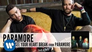 Baixar - Paramore Hate To See Your Heart Break Audio Grátis