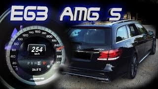 Mercedes Benz E63 AMG S 4Matic Wagon (2015, 585hp) DRIVING, ACCELERATION & SOUND