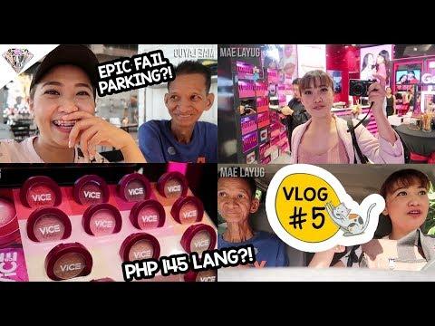 ERRANDS WITH PAPA   ANO NGA BA ANG MERON SA EVENTS?! VICE COSMETICS CHEEKRET LAUNCH! VLOG #5