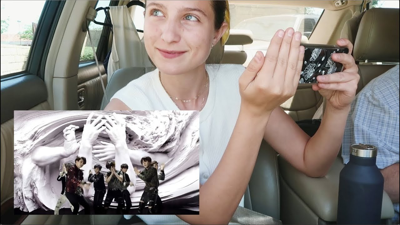 Bts Fake Love Reaction On My Way To The Bbmas