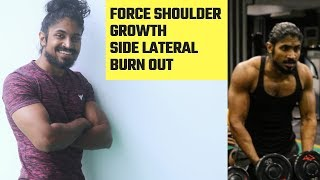 Force Shoulder growth - Burnout/Monster Pyramid set for bodybuilding