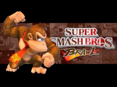 Super Smash Bros Brawl - Jungle Japes - (HD)