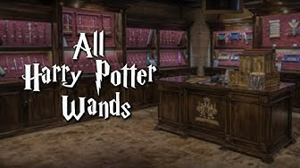 All Harry Potter Wands from Noble Collection