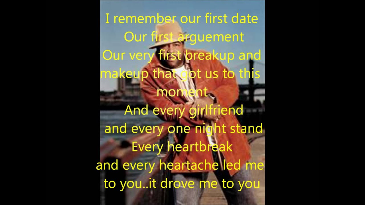 Gerald Levert Songs for gerald levert i was made to love you lyrics - youtube