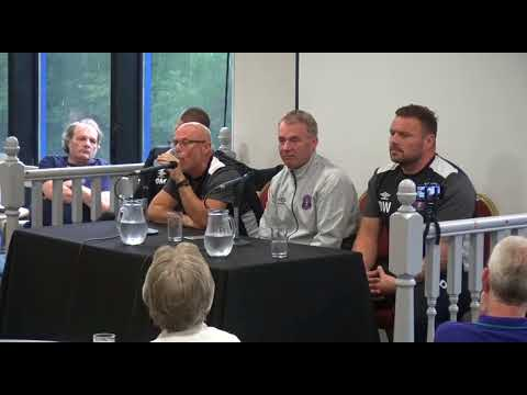 Part one of the Monday night forum with John Sheridan and his staff