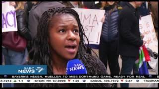 Anti-Zuma marches went as far as New York