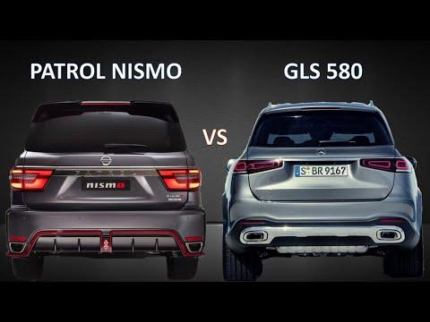 2022 Nissan Patrol Nismo vs 2020 Mercedes-Benz GLS 580 AMG Line | Visual comparison, prices, specs