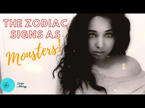 The 12 Zodiac Signs as Monsters/Creatures