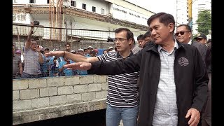 Isko Moreno assures illegal settlers of relocation with rehab of Malate estero