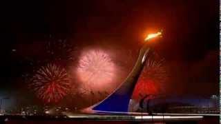 Паралимпиада 2014. Зажжение огня (Paralympics 2014. Lighting the fire)