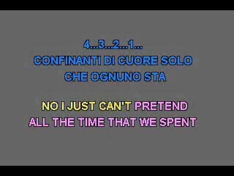 Karaoke - Eros Ramazotti & Tina Turner - Cose Della Vita.flv