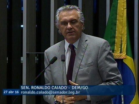 Ronaldo Caiado afirma que Dilma Rousseff violou a Lei Orçamentária e a Constituição