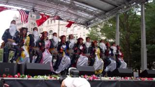 Halay Dance at the Turkish Festival DC