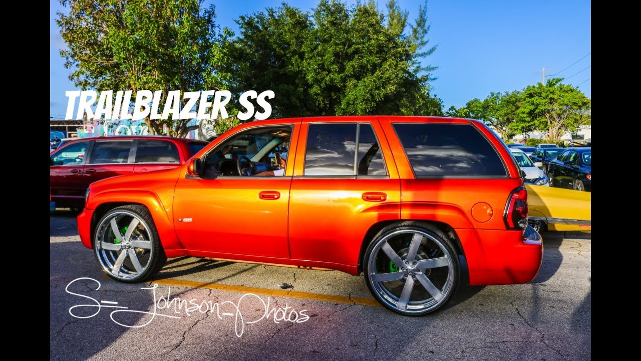 Candy orange Trailblazer SS on billets in HD (must see ...