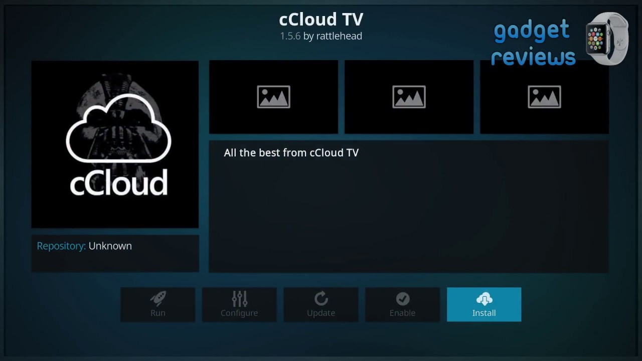 How to install cCloud TV to Kodi 17 6 updated at November 2017