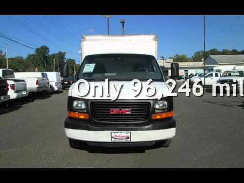 2004 Gmc Savana 3500 10 Box Truck For In East Windsor Nj