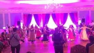 Family Dance for Yuvraj and Reema