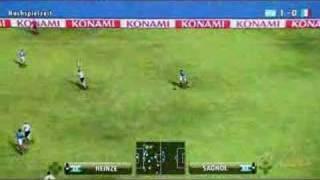 PES 2008 Gameplay Footage