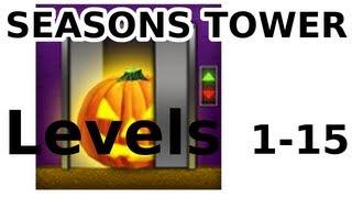 100 Floors - ALL LEVELS - Halloween Special - Seasons Tower - Walkthrough