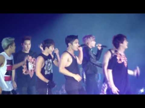 [Fancam] 130615 Super Junior SS5 in HK - Shake It Up EunHae kiss