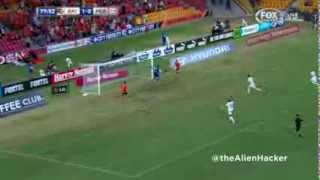 Liam Miller Goal vs Perth Glory - Round 21 - 28.02.14
