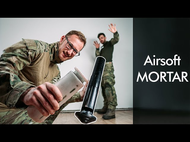 Getting hit by Airsoft MORTAR