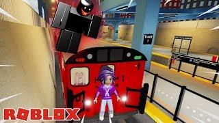 THE HORROR TRAIN TRIP! / ROBLOX 🚂