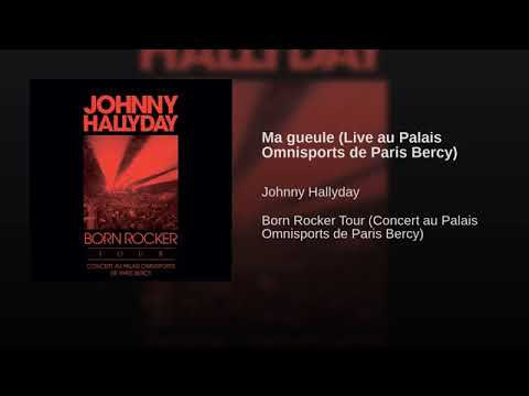 Johnny Hallyday Born Rocker Tour 2013 : Ma Gueule