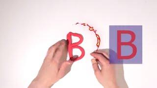 Весёлые буквы из пластилина Плей-До. Стефан Лепит Буквы Русского Алфавита